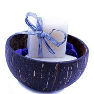 COCO SOAPS IN A COCO BOWL (YLANG-YLANG)