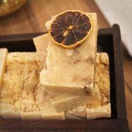 organic artisanal soap lemon