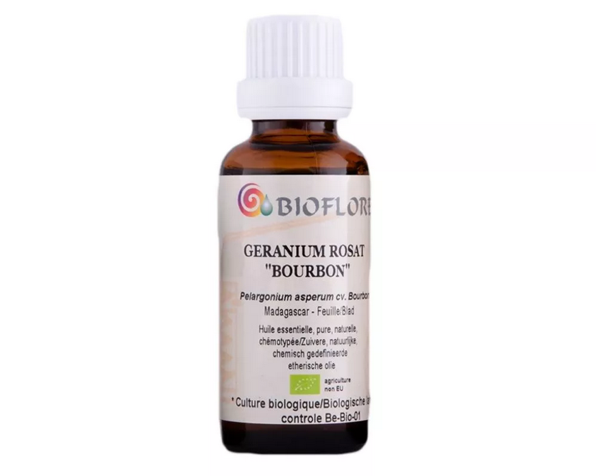 Picture of ORGANIC GERANIUM ROSAT BOURBON (Pelargonium asperum), 10 ml