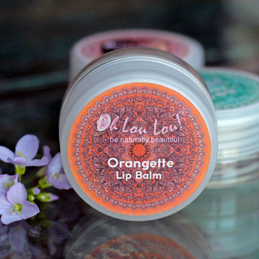 Picture of ORANGETTE - NOURISHING LIP BALM 100% ORGANIC