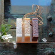 Soap on a rope Cedarwood