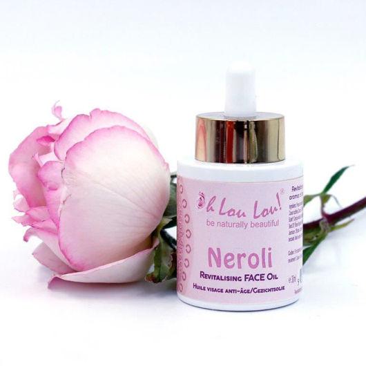 100% organic face oil Neroli