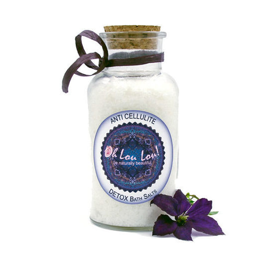 ORGANIC ANTI-CELLULITE DETOX BATH SALTS