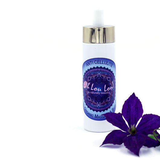 ORGANIC ANTI-CELLULITE MASSAGE & BATH OIL