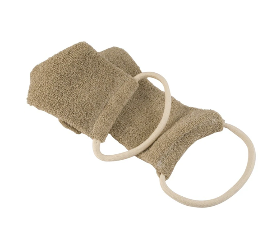 100% Organic HAMMAM LINEN Bath Shower Strap