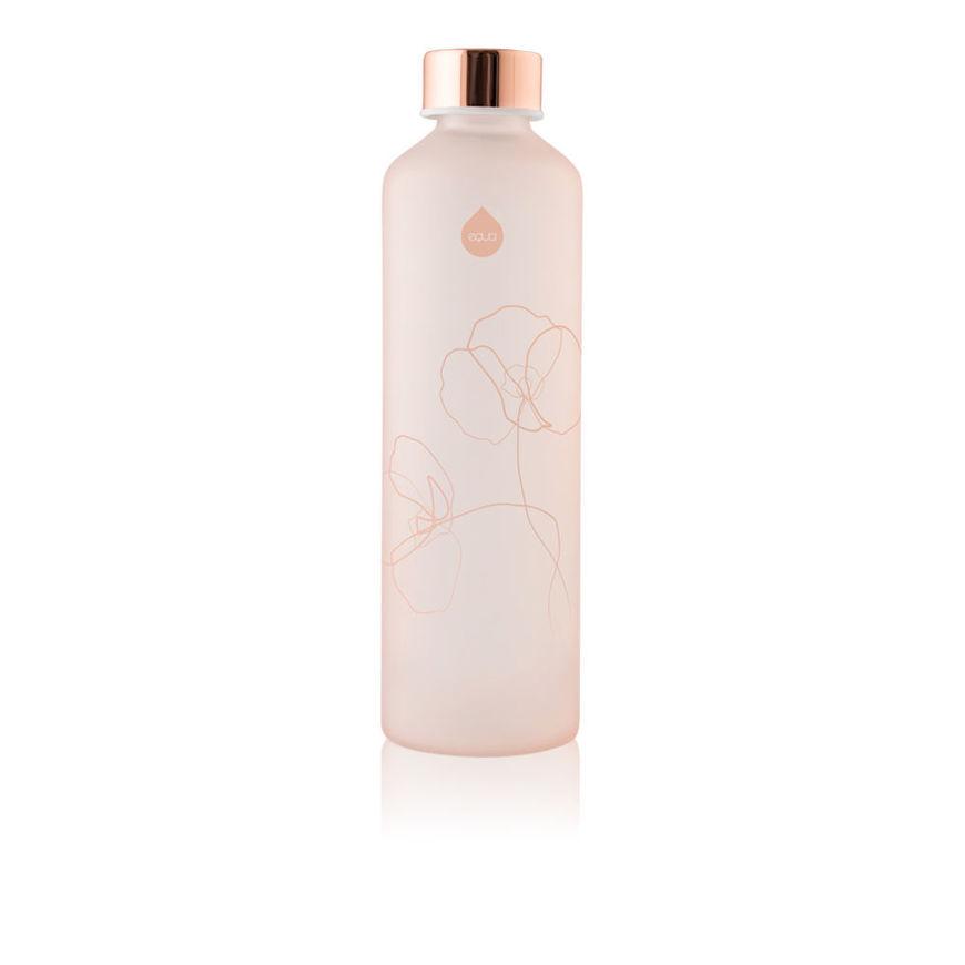 Equa Bloom Pink Glass Bottle
