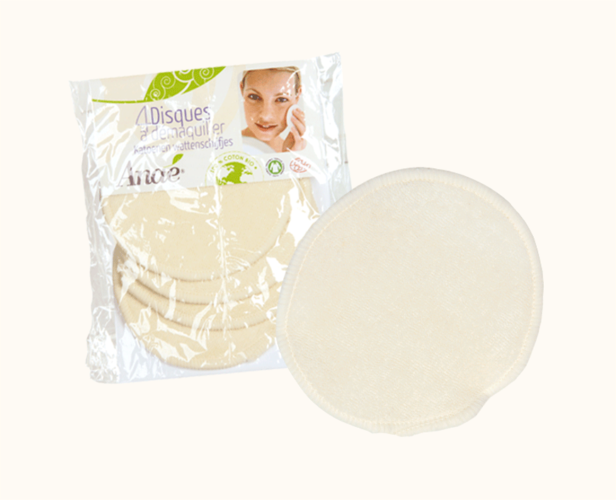 Makeup remover pads ORGANIC COTTON