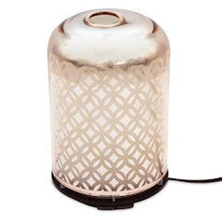 Picture of ULTRASONIC AROMA DIFFUSER ROSE GOLD