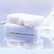 Picture of ORGANIC HANDMADE SET 2 SOAPS TROPICAL YLANG-YLANG ~200g