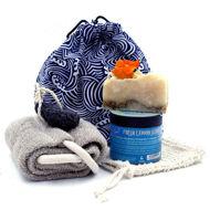 Scrub Bath Gift Set