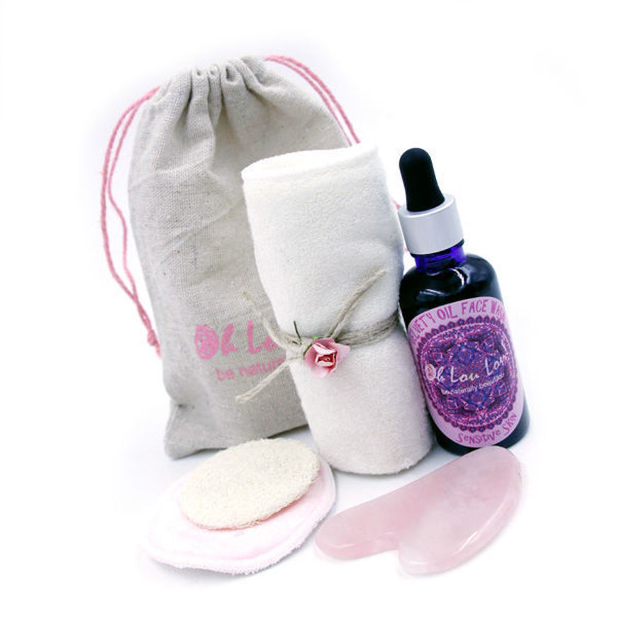oil cleansing gift set