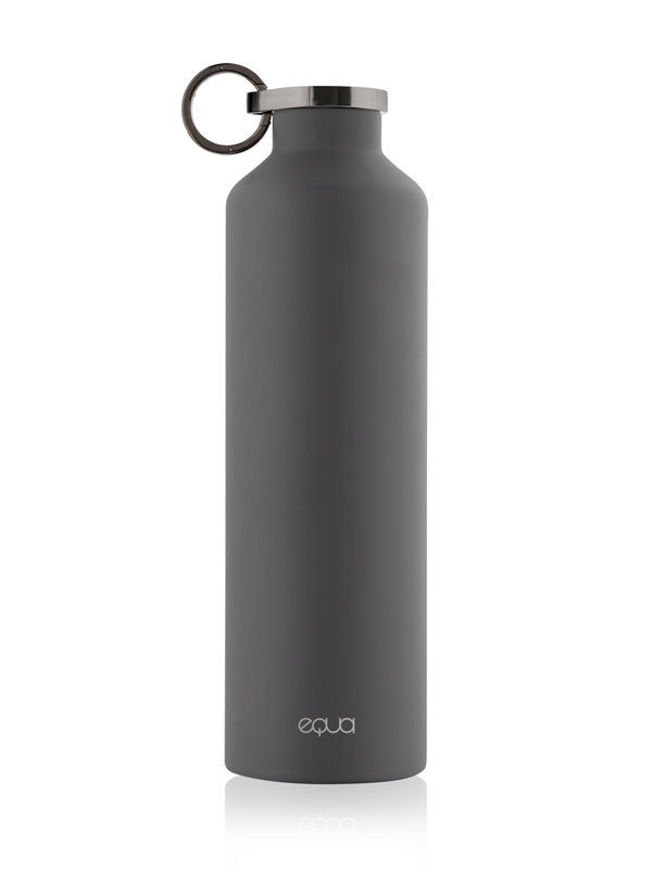Picture of EQUA  CLASSY THERMO DARK GREY WATER BOTTLE