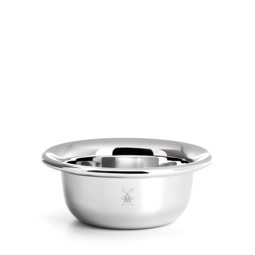 Picture of Shaving bowl from MÜHLE, stainless steel, chrome-plated